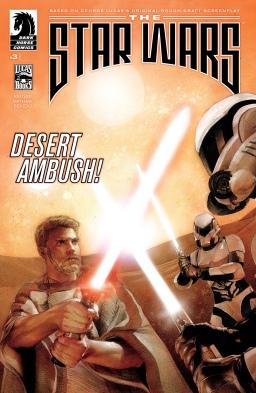 Comic Review – The Star Wars #3 – Desert Ambush