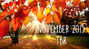 tbr, november, books